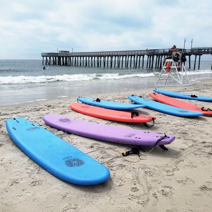 Kona Malibu Surfboard comes in a range of sizes and colors