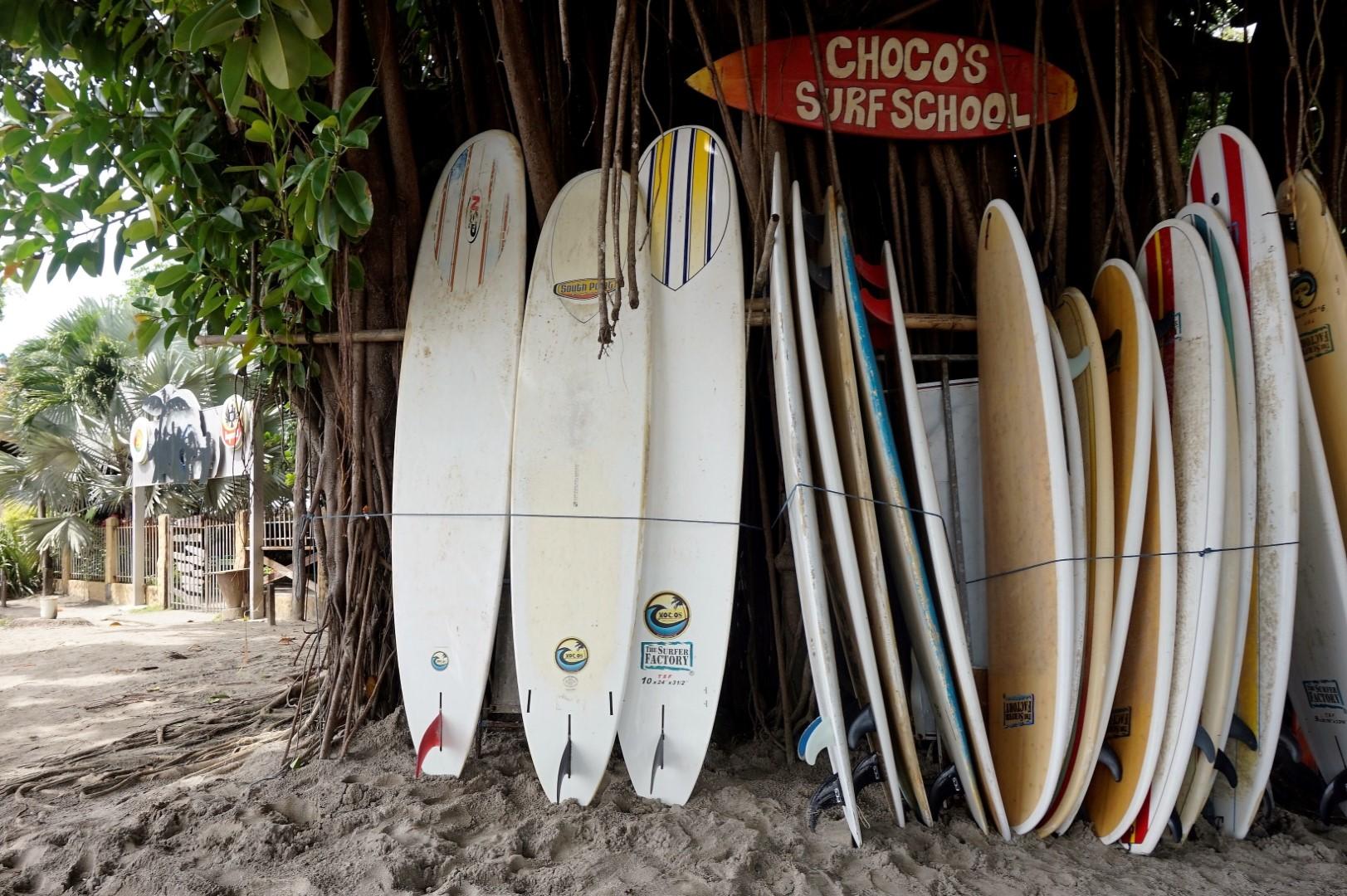 Surf school for Improving
